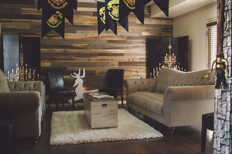 Harry Potter Party Banners, Chandeliers, and Petronus