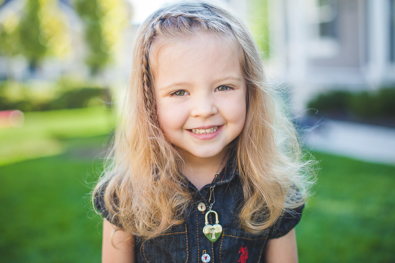 Preschool portraits Salt Lake City